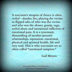 A Narcissist Weapon